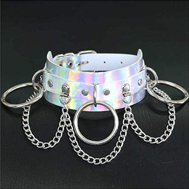 Holographic Slave Choker/Collar