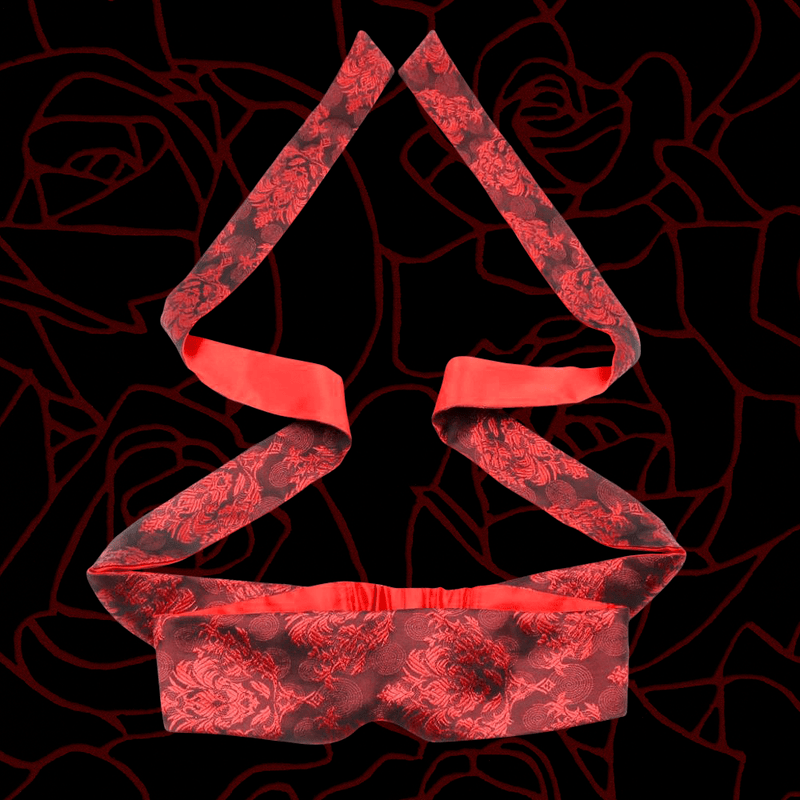 Red Royalty Blindfold