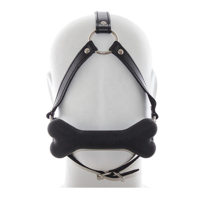Bone Gag Head Harness
