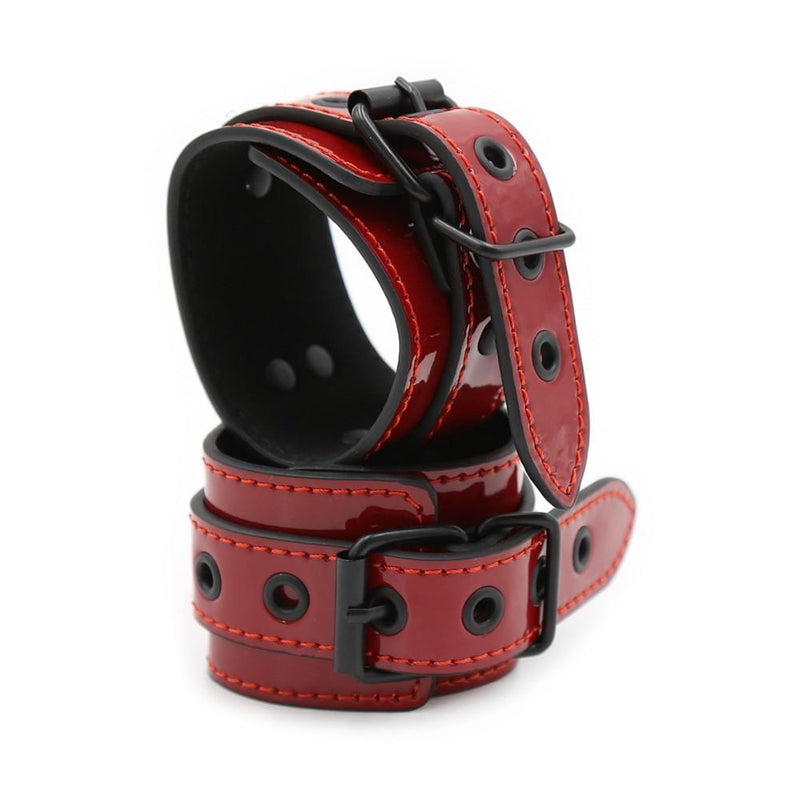 Wine Red Cuffs/Restraints