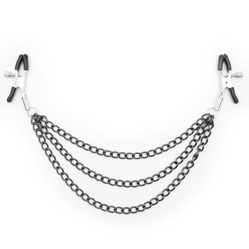 Chain Waterfall Nipple Clamps