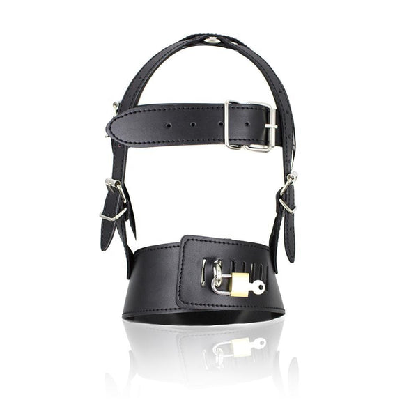 Rated X Head Harness w/ Muzzle - Black