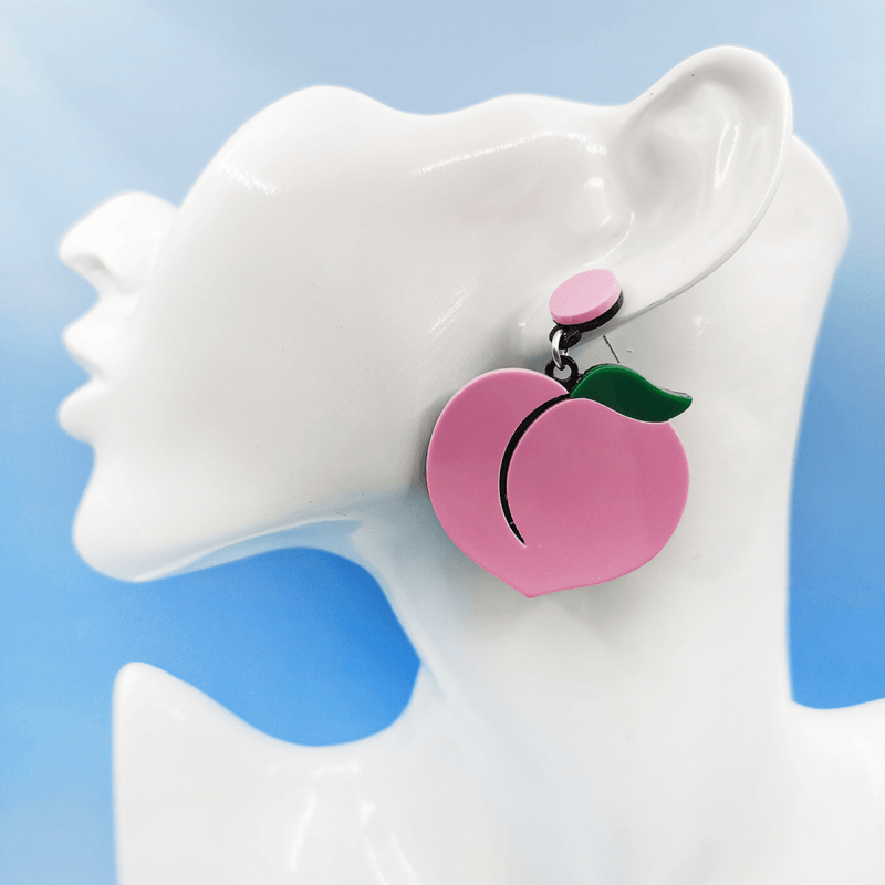 Juicy Peach Earrings