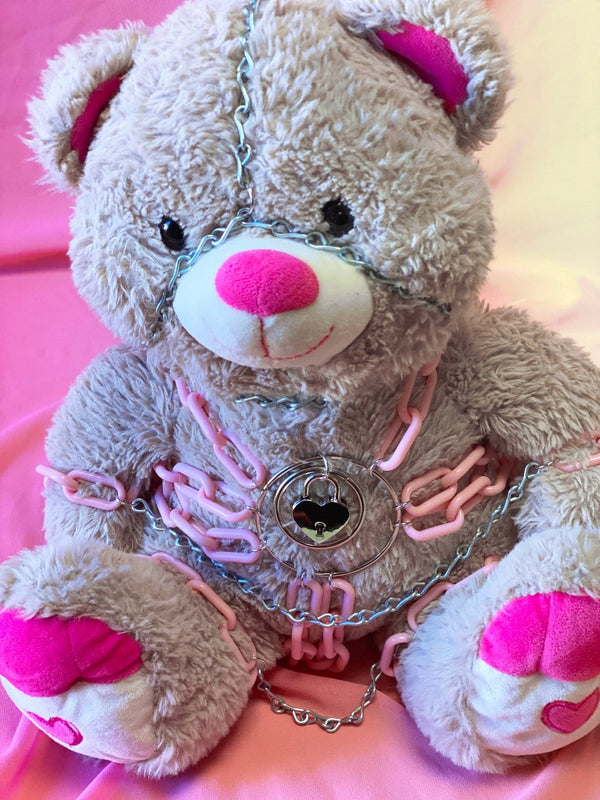 Heather the Sweetheart Bondage Bear