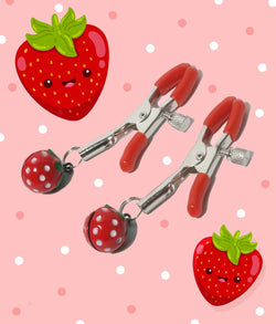 Strawberry Nipple Clamps