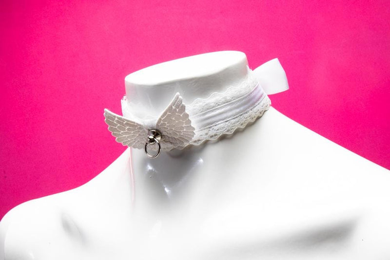 Angelic White Collar