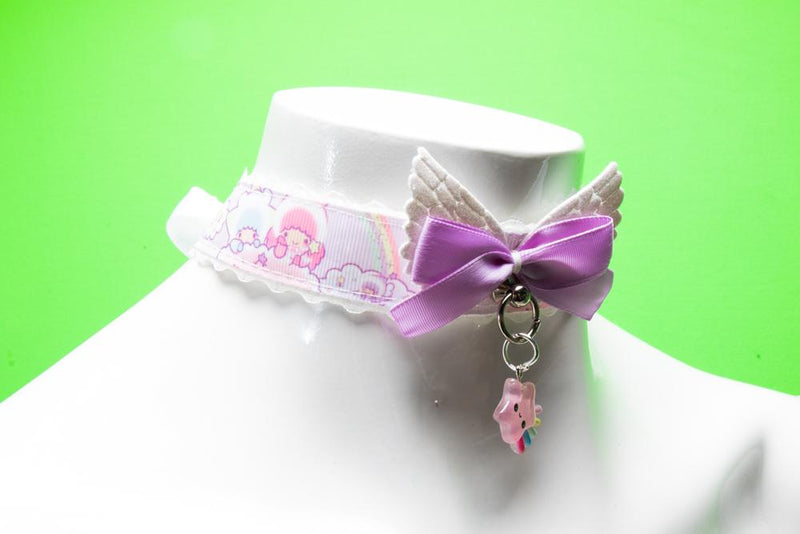 Lacey Angelic Little Twin Stars Collar