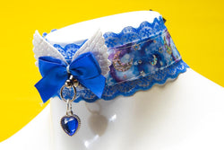 Royal Blue Moon Magic Collar