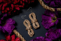 Shibari Rope Earrings