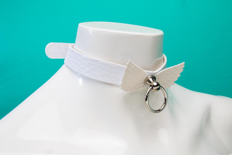 White Angelic Choker/Collar