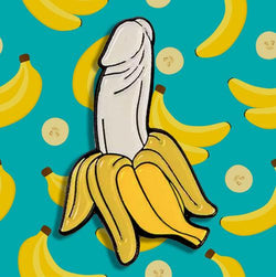 Banana Dick Pin