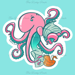 Tentacle Love Sticker