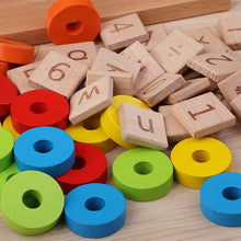 Load image into Gallery viewer, [Ready Stock] Montessori Colour & Number Sorting Rings Set