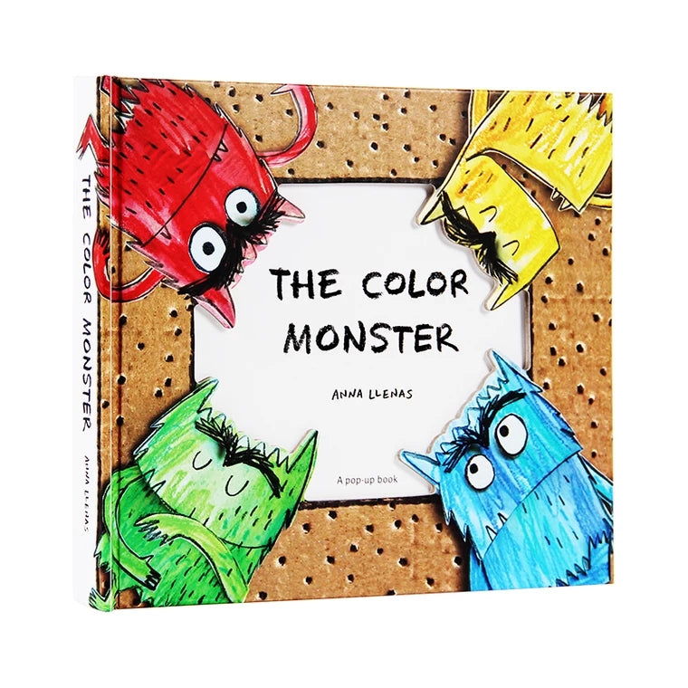 The Colour Monster - Book Of Emotions 3D Pop Up Book