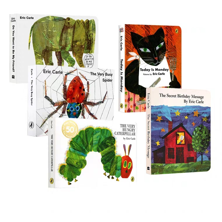 Eric Carle's Board Books Set B (Set of 5)