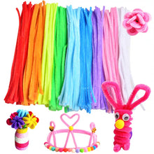 Load image into Gallery viewer, [Ready Stock] Pipe Cleaners (Blue, Pink, Yellow, Light and Dark Green, Orange)
