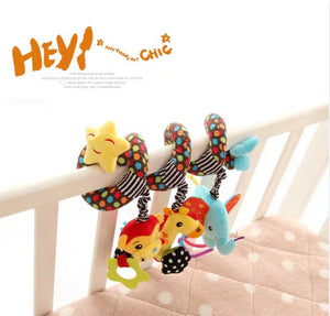 [Ready Stock] Baby Cot / Trolley Spiral Toy (3 Different Designs)