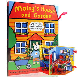 Pop Up & Play Book - Maisy's House And Garden