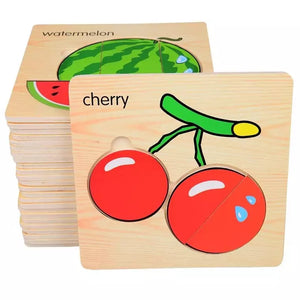 Wooden Mini Jigsaw Puzzle