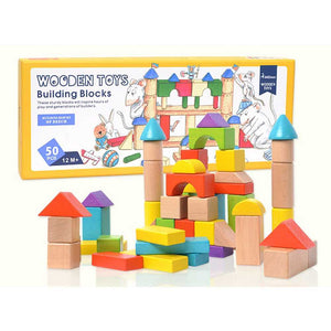 Wooden Toys Building Blocks