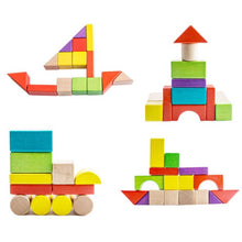 Load image into Gallery viewer, Wooden Toys Building Blocks