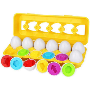 [Ready Stock] Egg Shapes Puzzle
