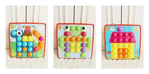 [Ready Stock] Alex Toys Little Hands Button Art