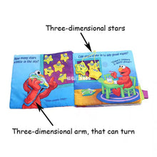 Load image into Gallery viewer, [Ready Stock] Twinkle Twinkle Elmo Bedtime Soft Book