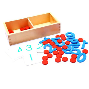 [Ready Stock] Montessori Matching Number Puzzle