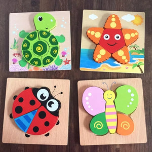 [Ready Stock] Wooden Puzzles