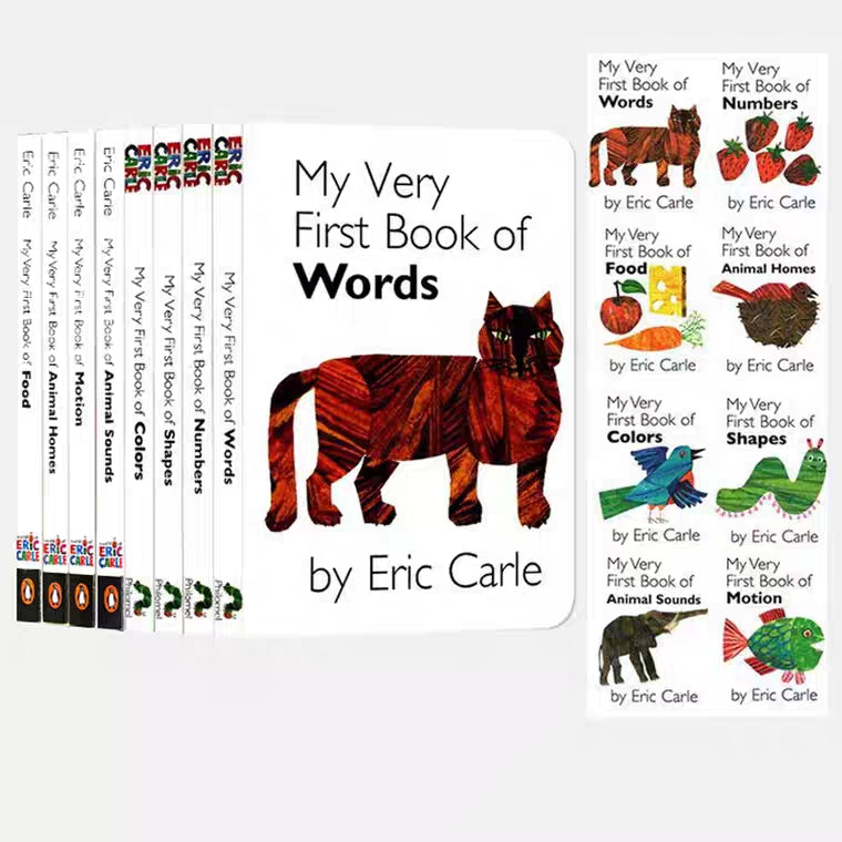 Eric Carle My Very First Library Set C (Set of 8)
