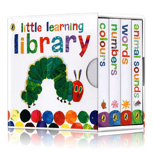 The Little Hungry Caterpillar Learning Library Books (Set of 4)