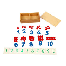 Load image into Gallery viewer, [Ready Stock] Montessori Matching Number Puzzle
