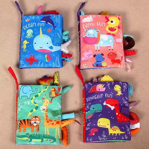 [Ready Stock] Fun Soft Baby Books (5 Different Titles)