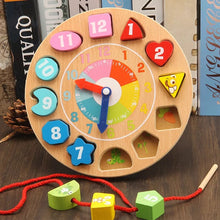 Load image into Gallery viewer, [Ready Stock] Wooden Clock Lacing Beads