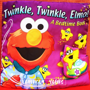 [Ready Stock] Twinkle Twinkle Elmo Bedtime Soft Book