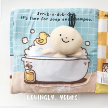 Load image into Gallery viewer, [Ready Stock] Baby Soft Books - It's Bath Time & It's Potty Time