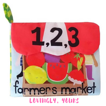 Load image into Gallery viewer, Farmer's Market Soft Book