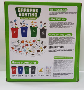 [Ready Stock] Garbage Sorting Puzzle Game