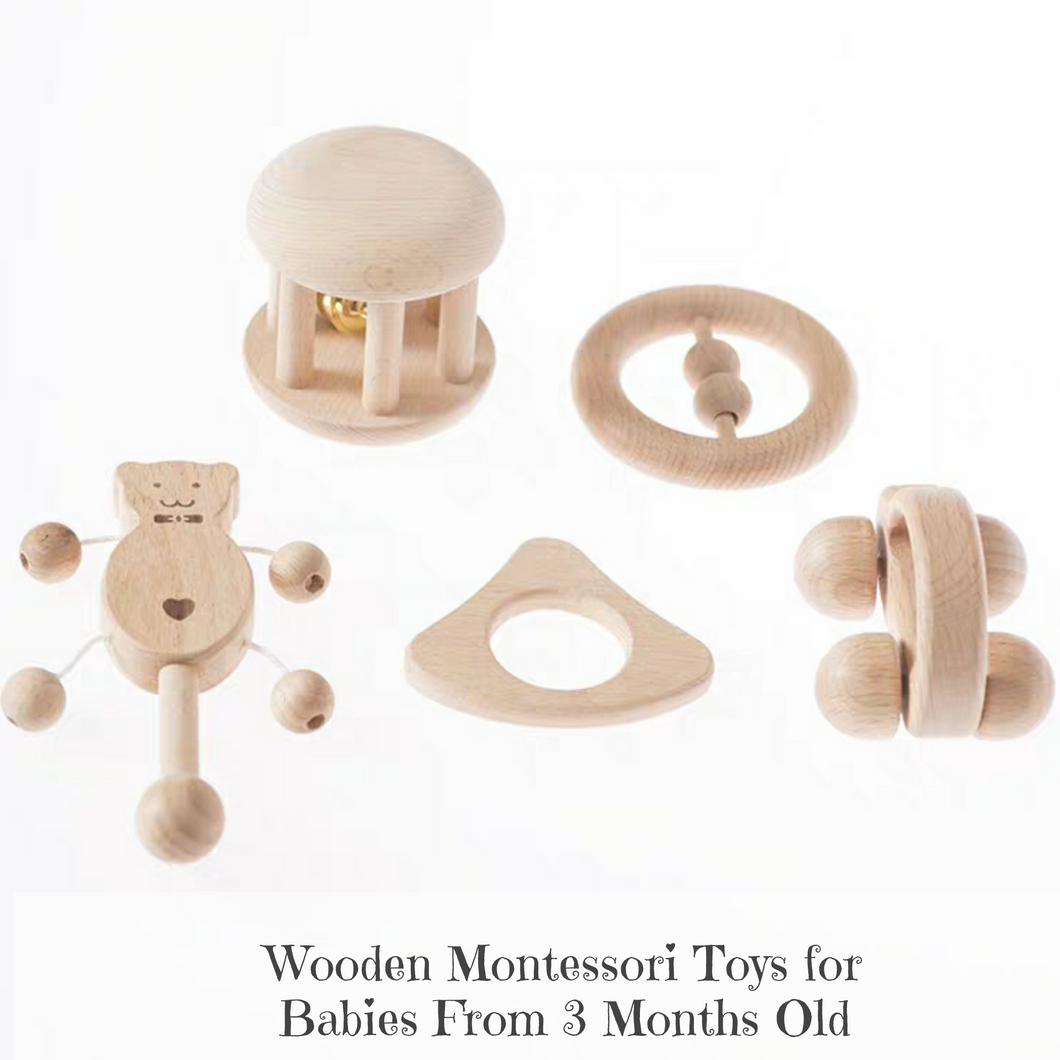 [Ready Stock] Montessori Wooden Toys