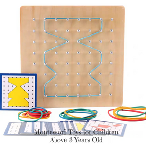 Montessori Shapes & Pattern Set