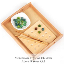 Load image into Gallery viewer, [Ready Stock] Montessori Pick Up Set