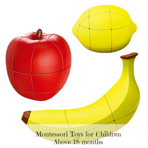 [Ready Stock] Montessori Fruit Puzzles