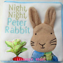 Load image into Gallery viewer, Night Night Peter Rabbit Soft Book