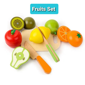 [Ready Stock] Learning The Fruits / Vegetables Set