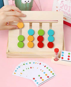 [Ready Stock] Montessori Pattern / Colour Matching Game