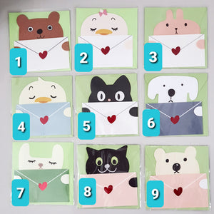 [Ready Stock] Gift Cards (9 Different Designs)