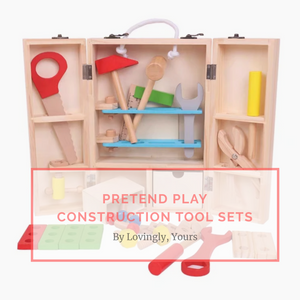 [Ready Stock] Pretend Play Tool Construction Set