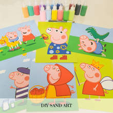 Load image into Gallery viewer, [Ready Stock] Sand Art - Peppa Pig