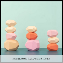 Load image into Gallery viewer, Montessori Balancing Stones